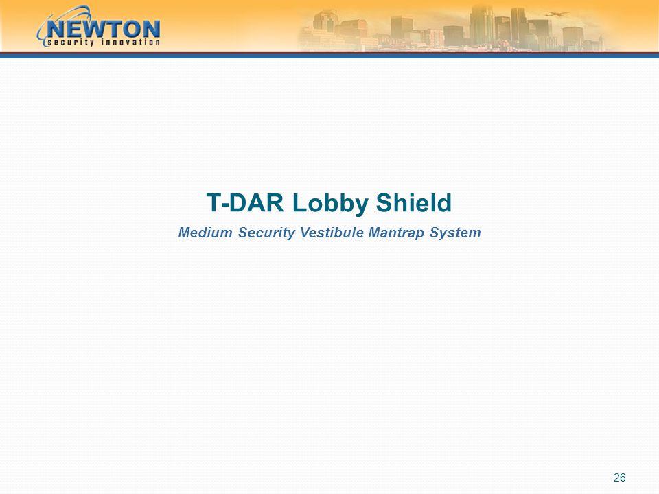 Medium Security Vestibule Mantrap System