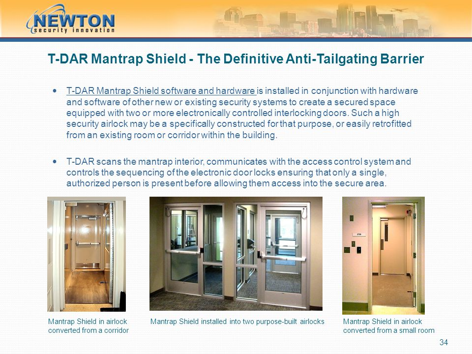 T-DAR Mantrap Shield - The Definitive Anti-Tailgating Barrier