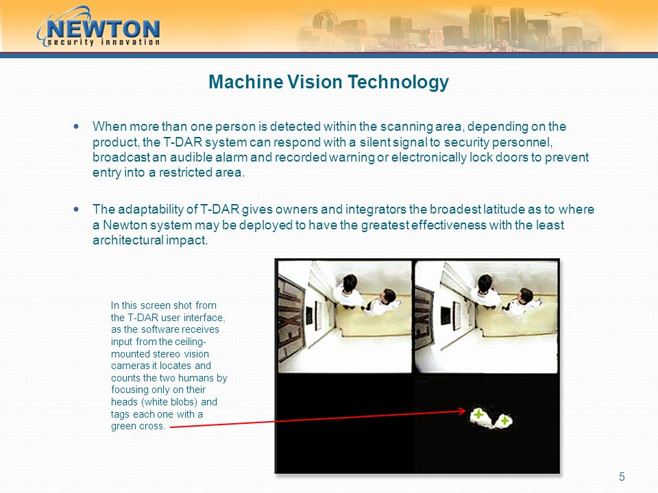 Machine Vision Technology