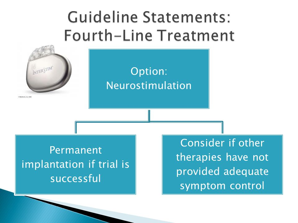 Guideline Statements: Fourth-Line Treatment