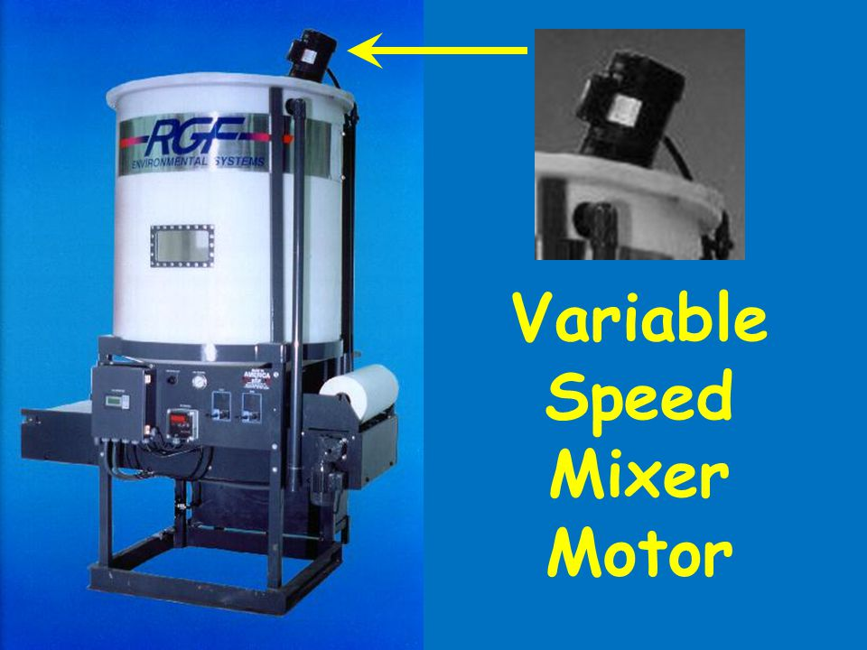 Variable Speed Mixer Motor