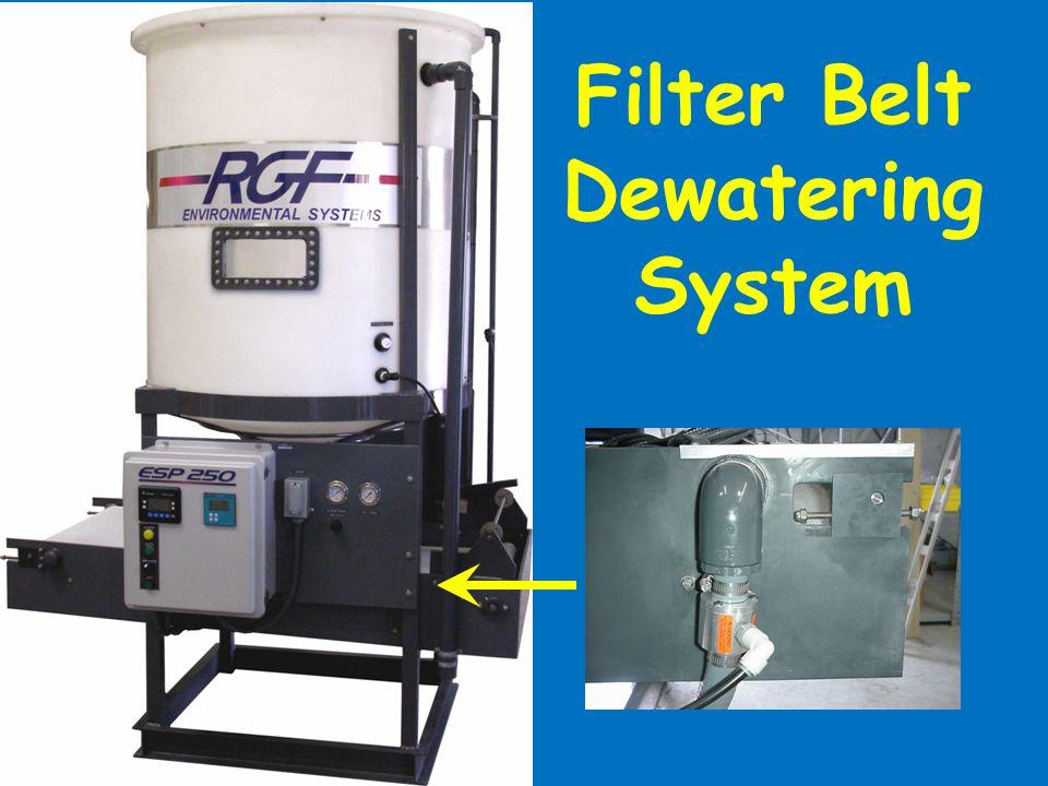 Filter Belt Dewatering System