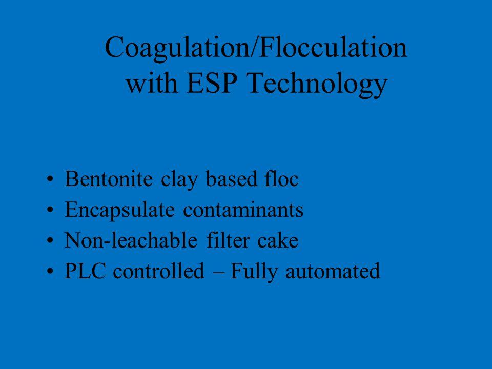 Coagulation/Flocculation with ESP Technology