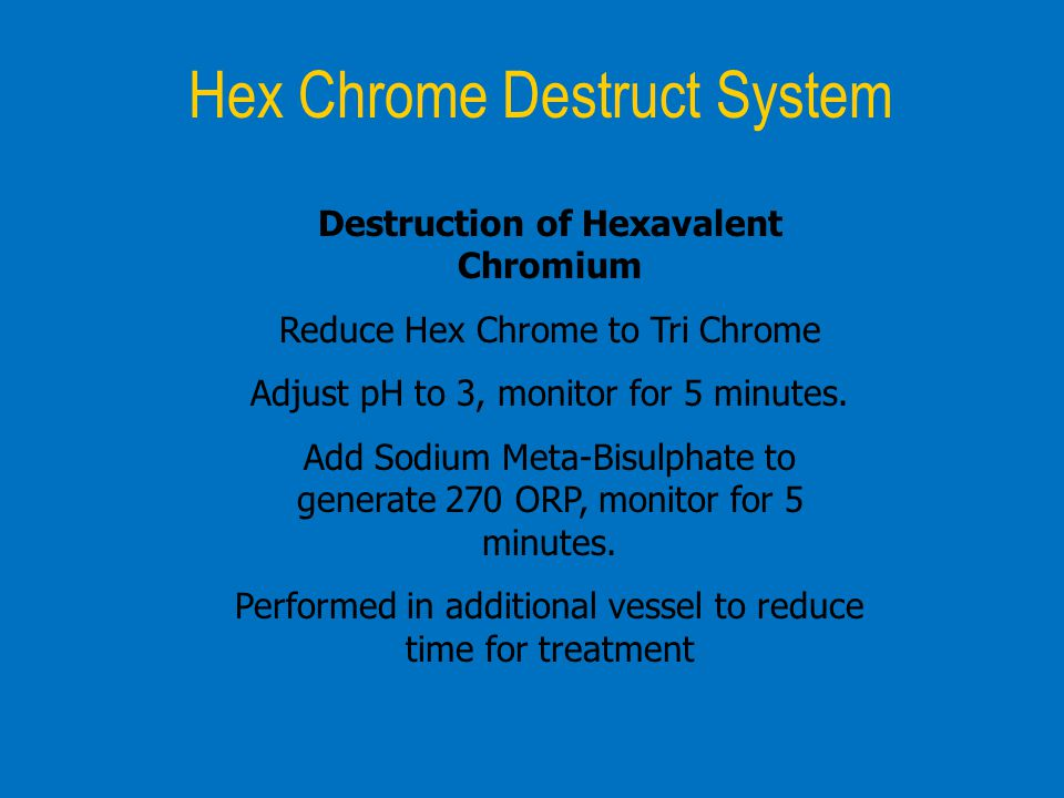 Hex Chrome Destruct System
