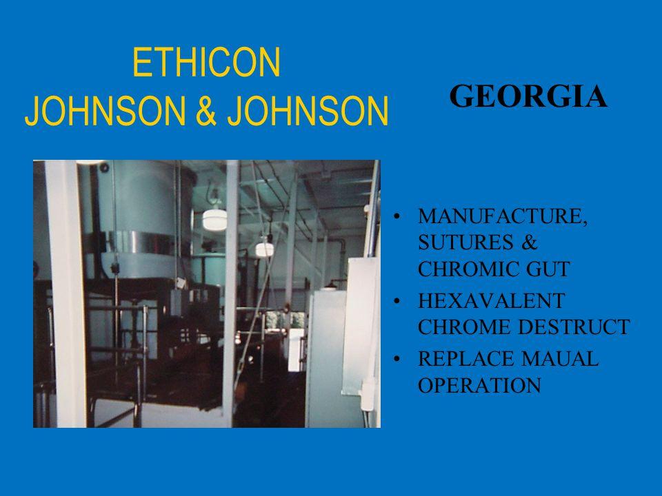 ETHICON JOHNSON & JOHNSON