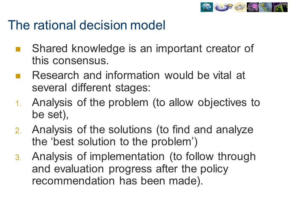 an analysis of different decision making models Learn how to use more than 40 different decision making techniques to make better decisions the tdodar decision model decision tree analysis.
