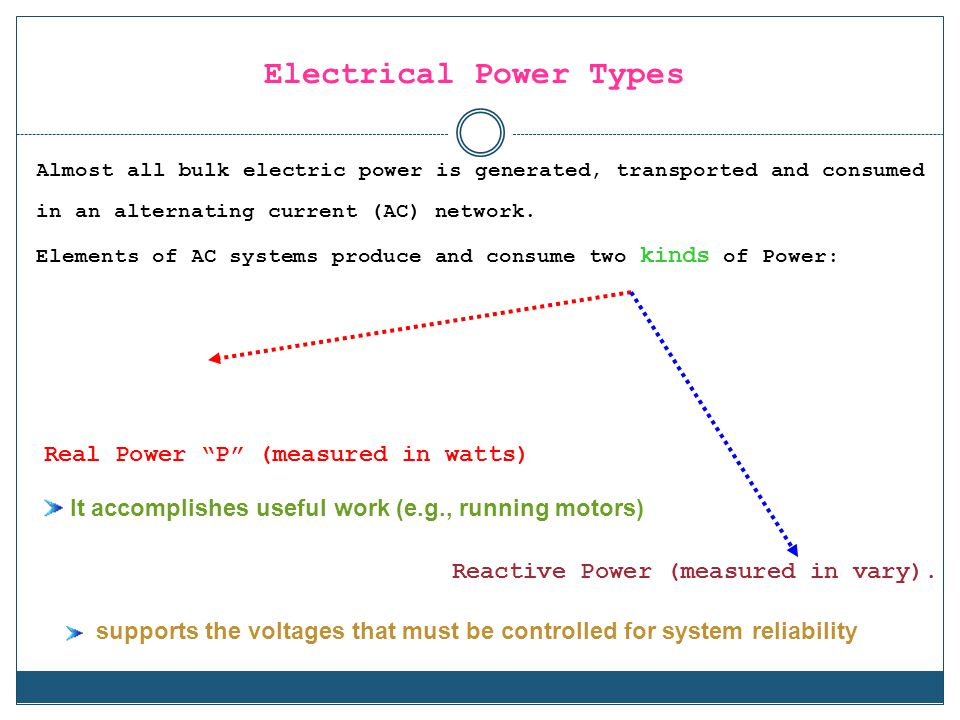 Electrical Power Types