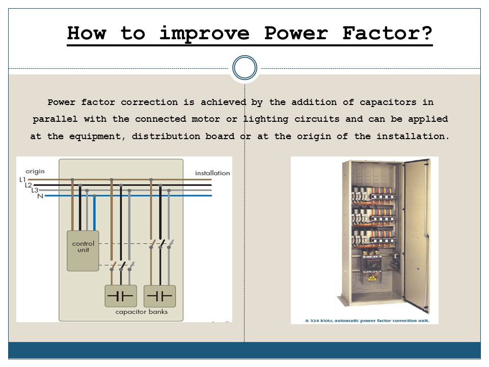 How to improve Power Factor