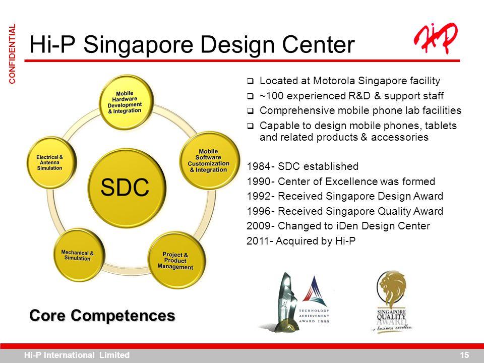 Hi-P Singapore Design Center