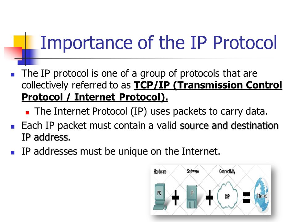 Importance of the IP Protocol