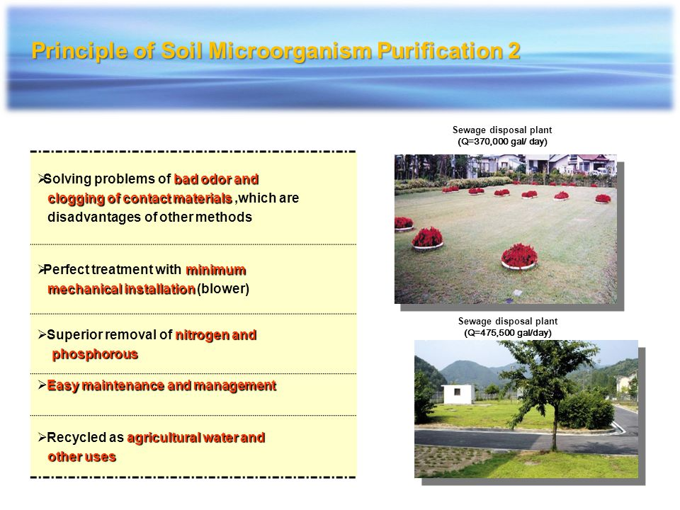 Principle of Soil Microorganism Purification 2