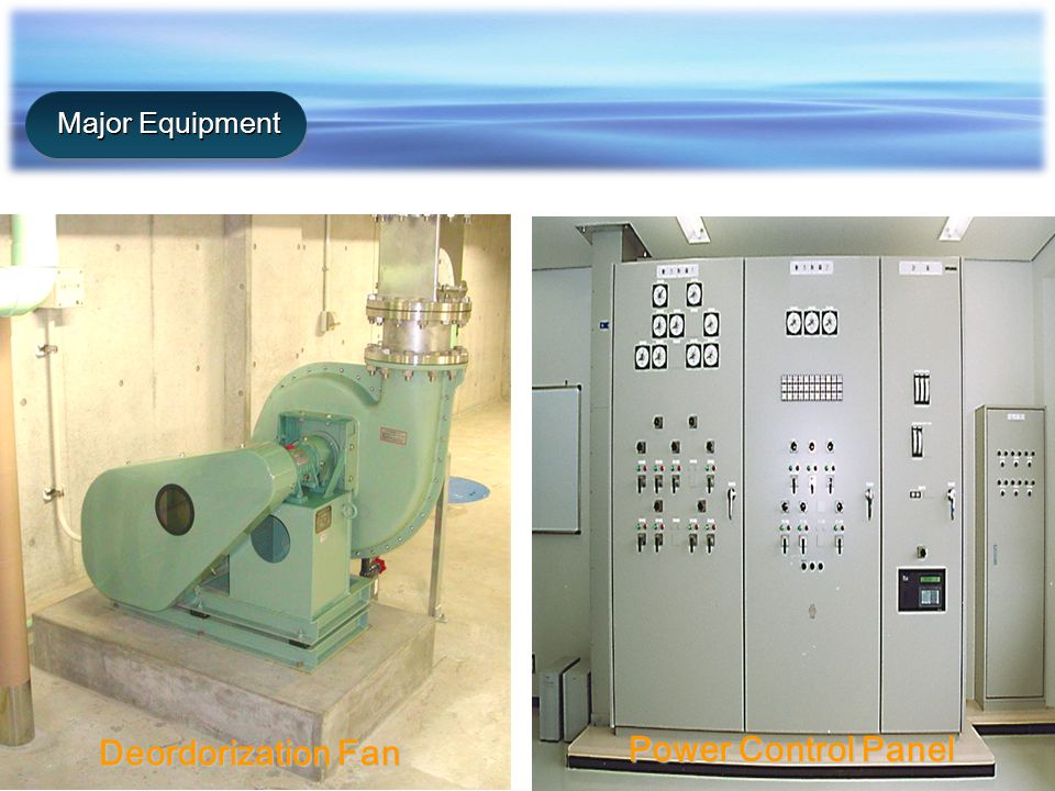 Deordorization Fan Power Control Panel