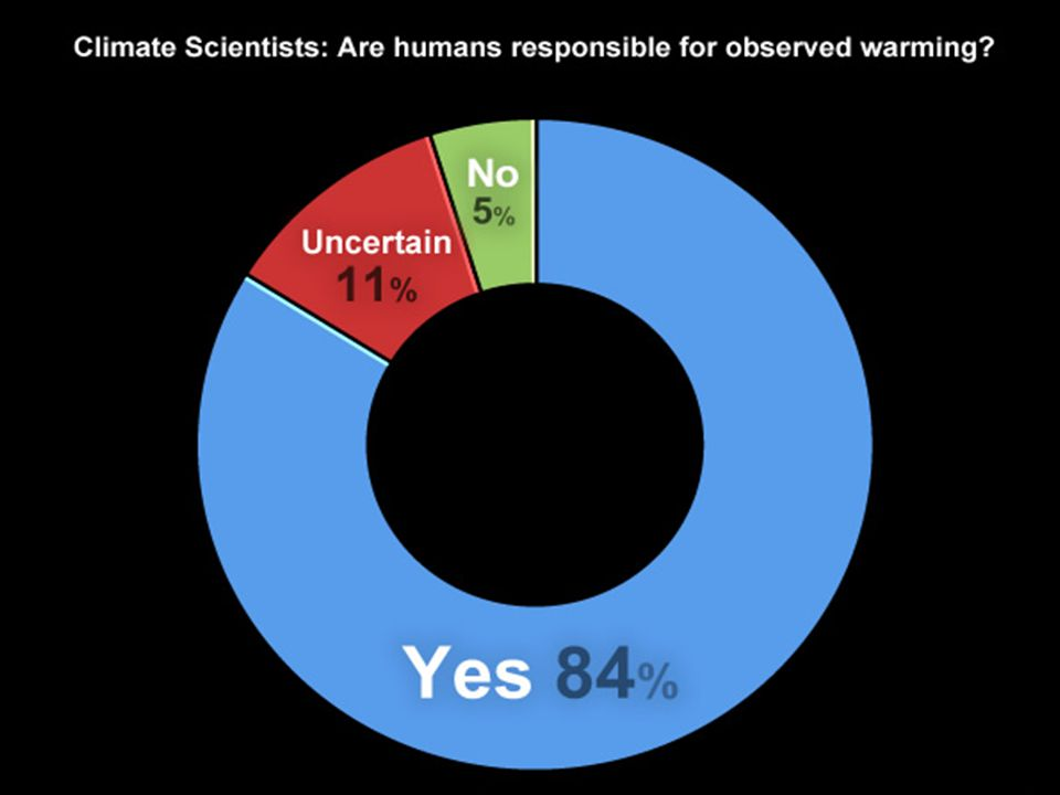 What do climate scientists really think