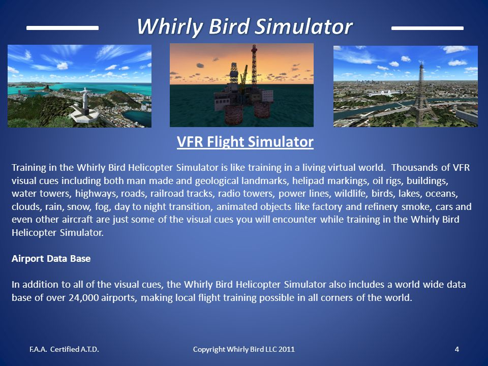 Copyright Whirly Bird LLC 2011