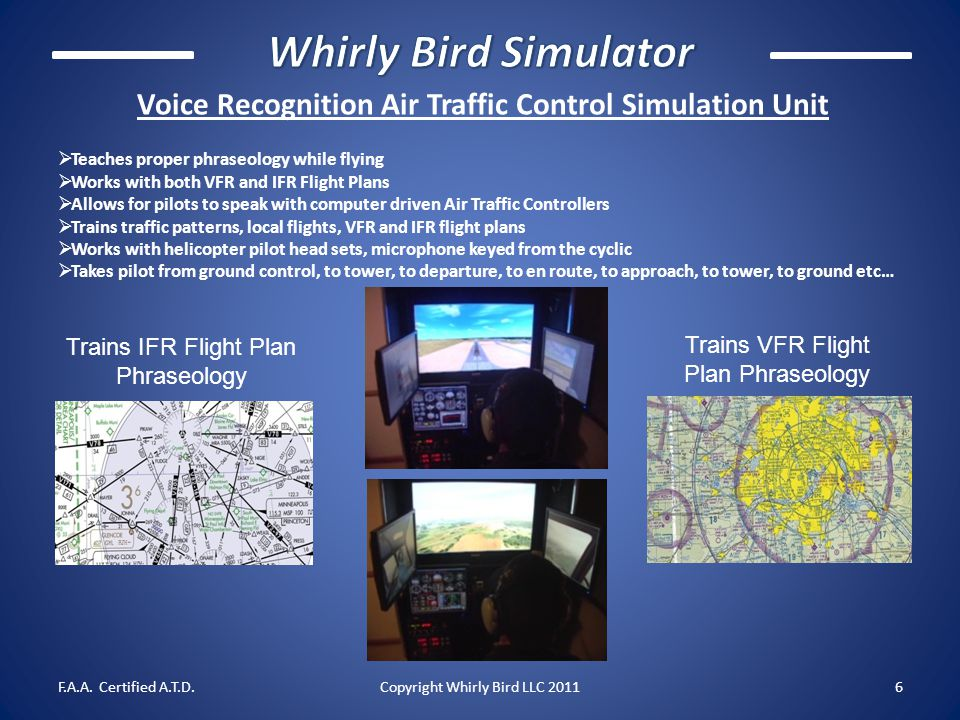 Voice Recognition Air Traffic Control Simulation Unit