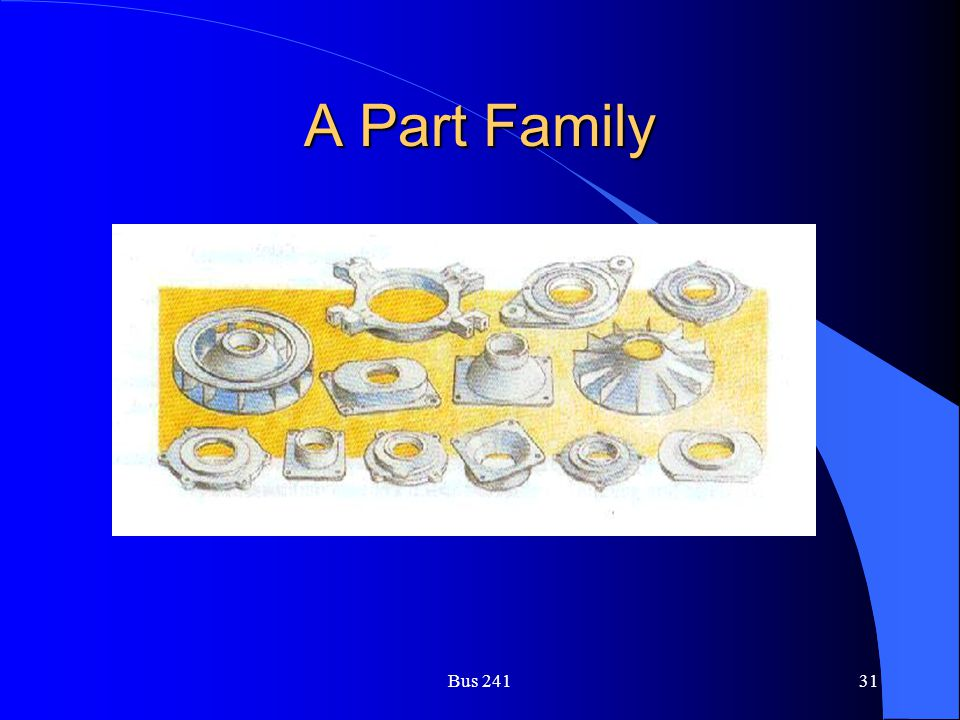 A Part Family Bus 241