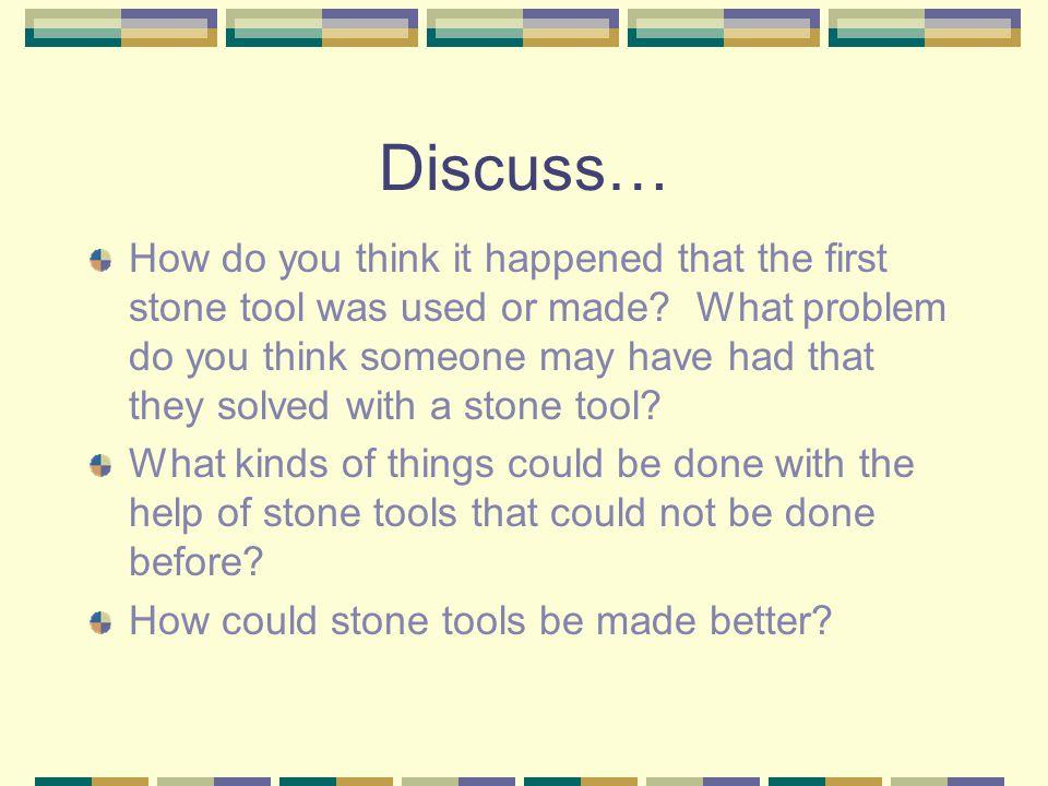 Discuss…