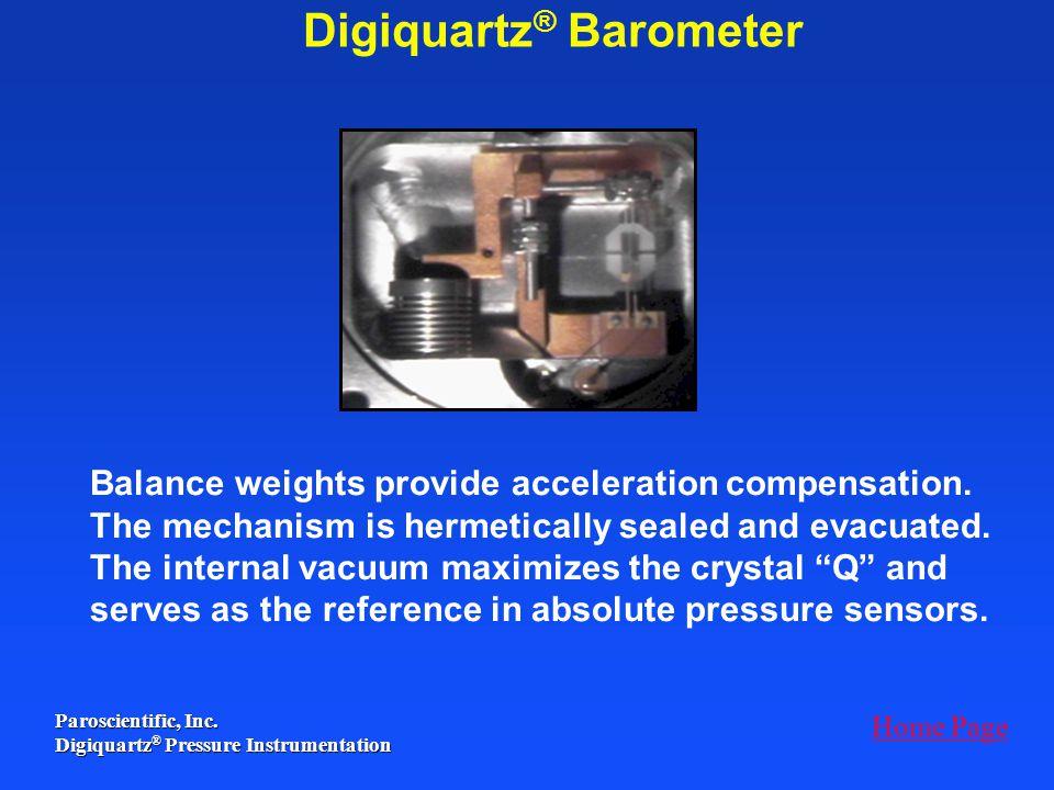 Digiquartz® Barometer