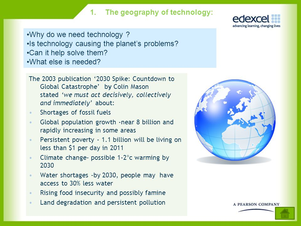 The geography of technology: