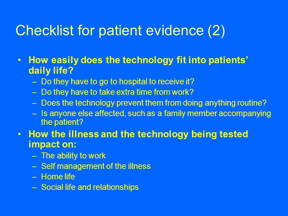 Checklist for patient evidence (2)