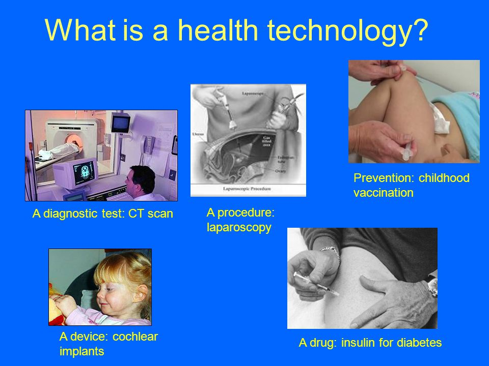 What is a health technology