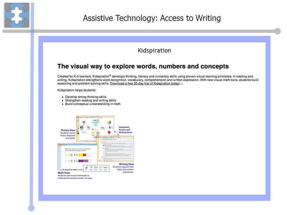 Assistive Technology: Access to Writing