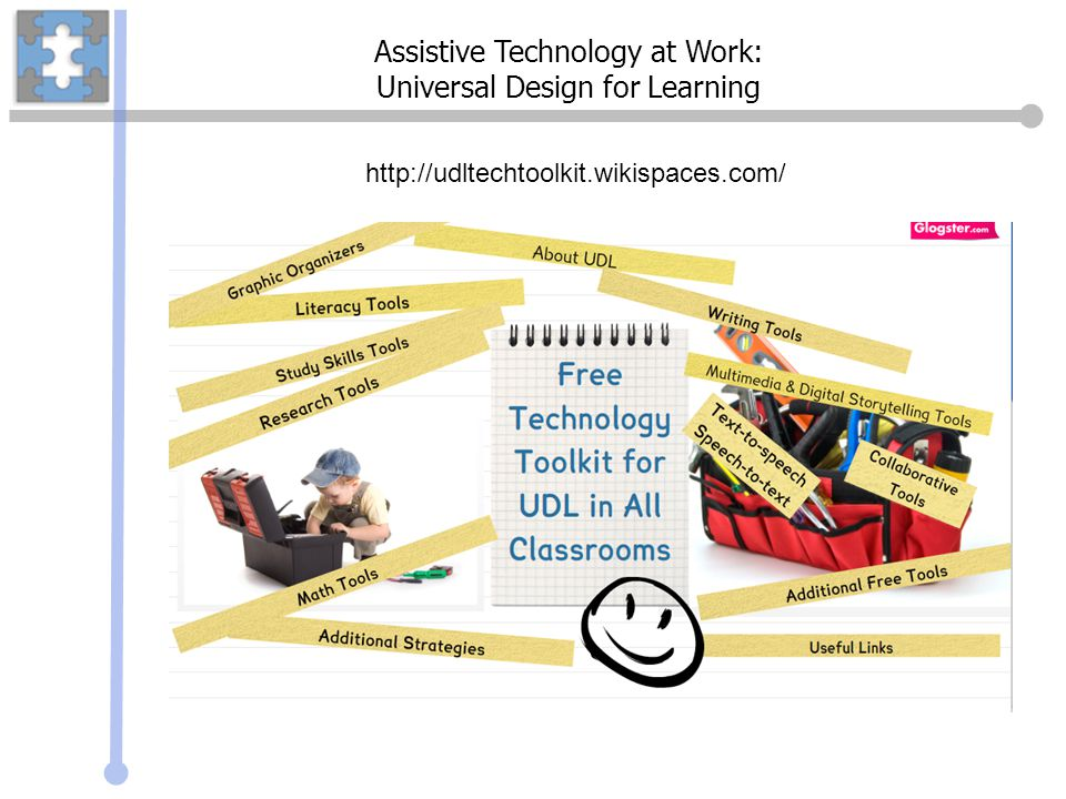 Assistive Technology at Work: Universal Design for Learning