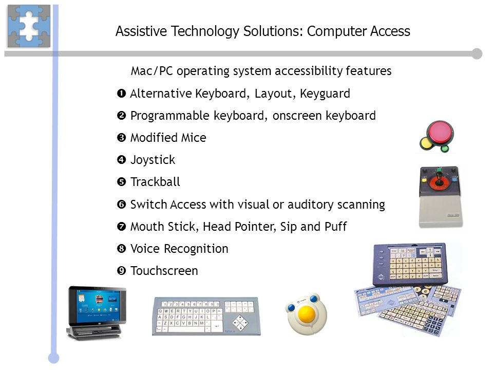 Assistive Technology Solutions: Computer Access