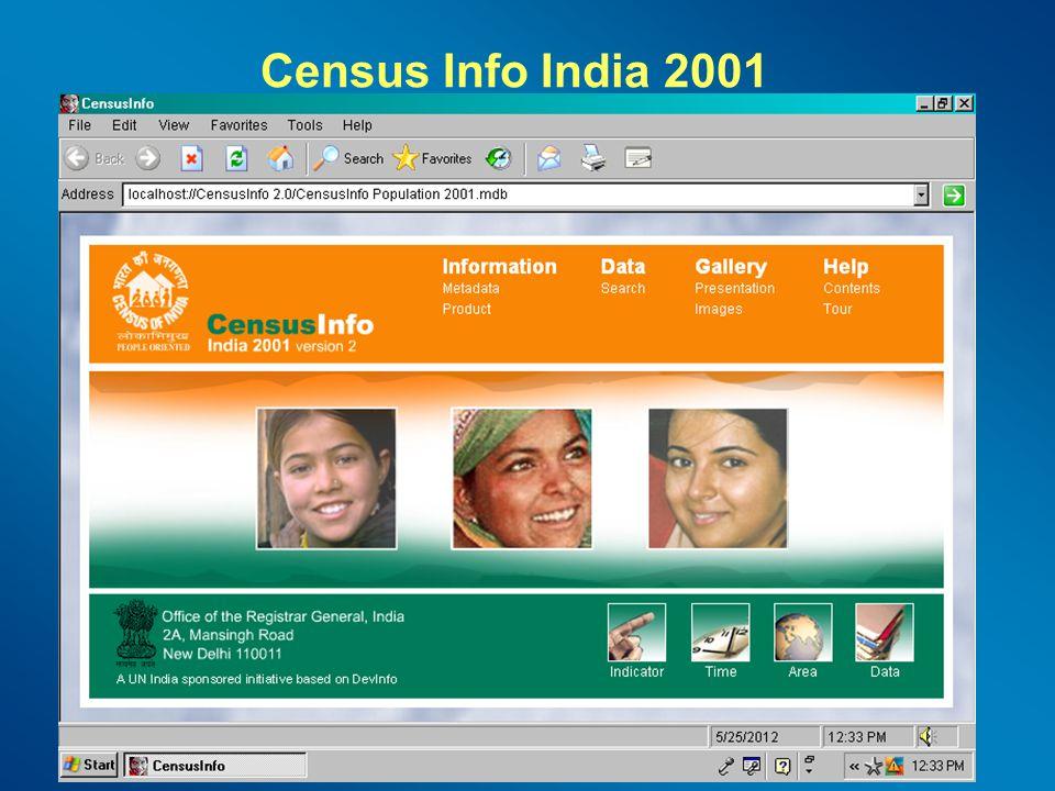 Census Info India 2001