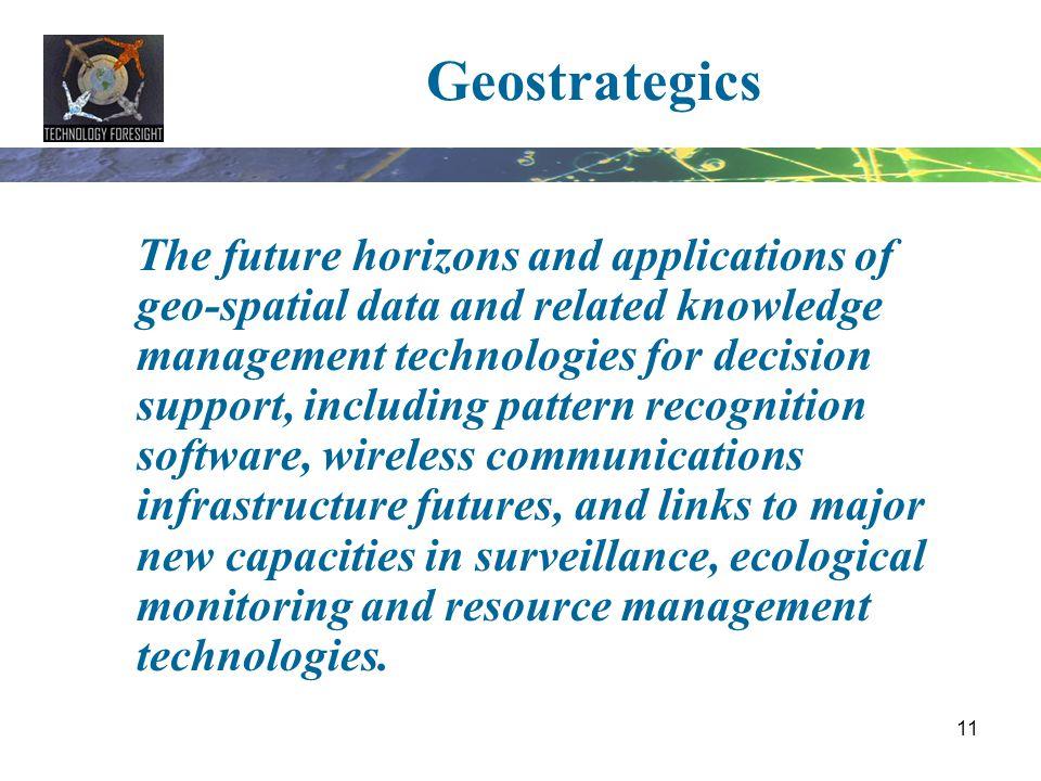 Geostrategics