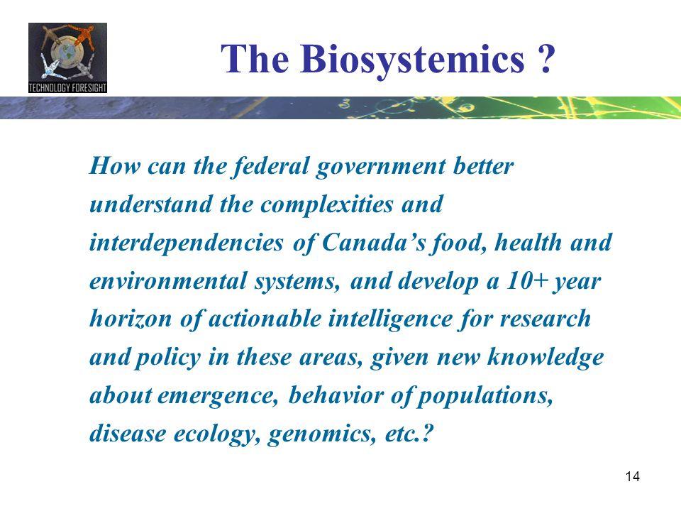 The Biosystemics
