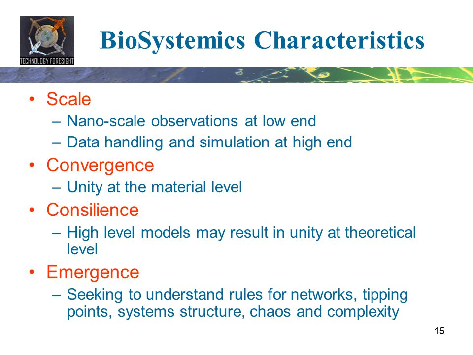 BioSystemics Characteristics