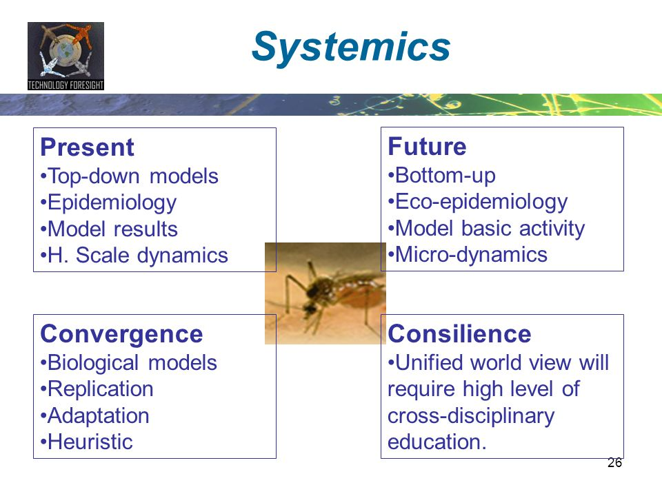 Systemics Present Future Convergence Consilience Top-down models