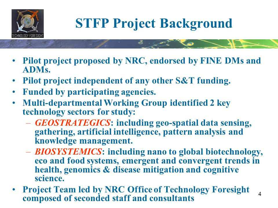 STFP Project Background