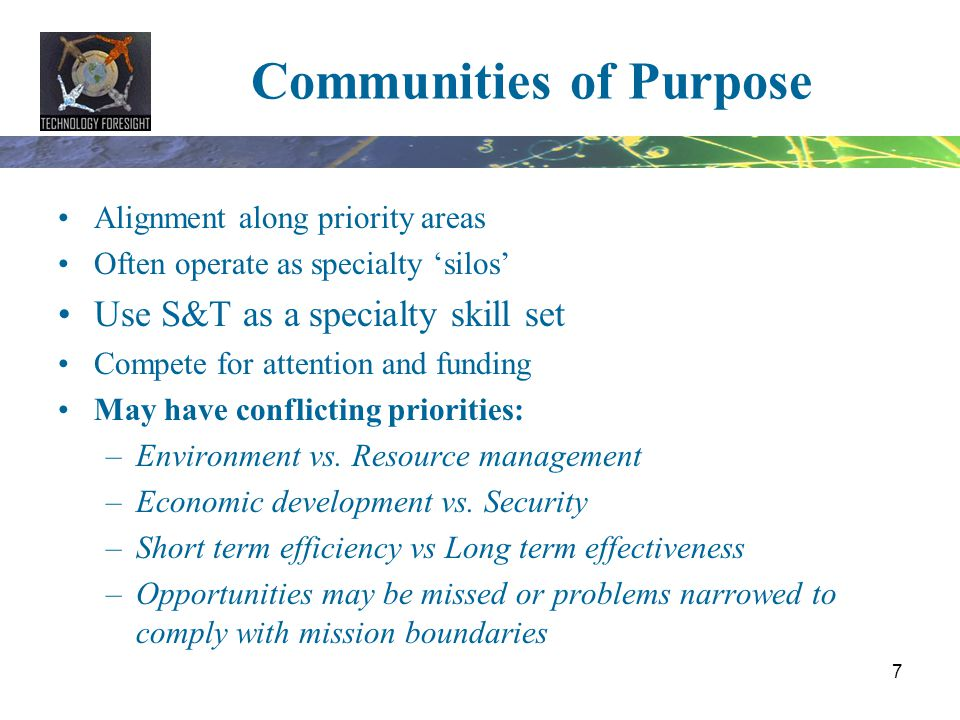 Communities of Purpose