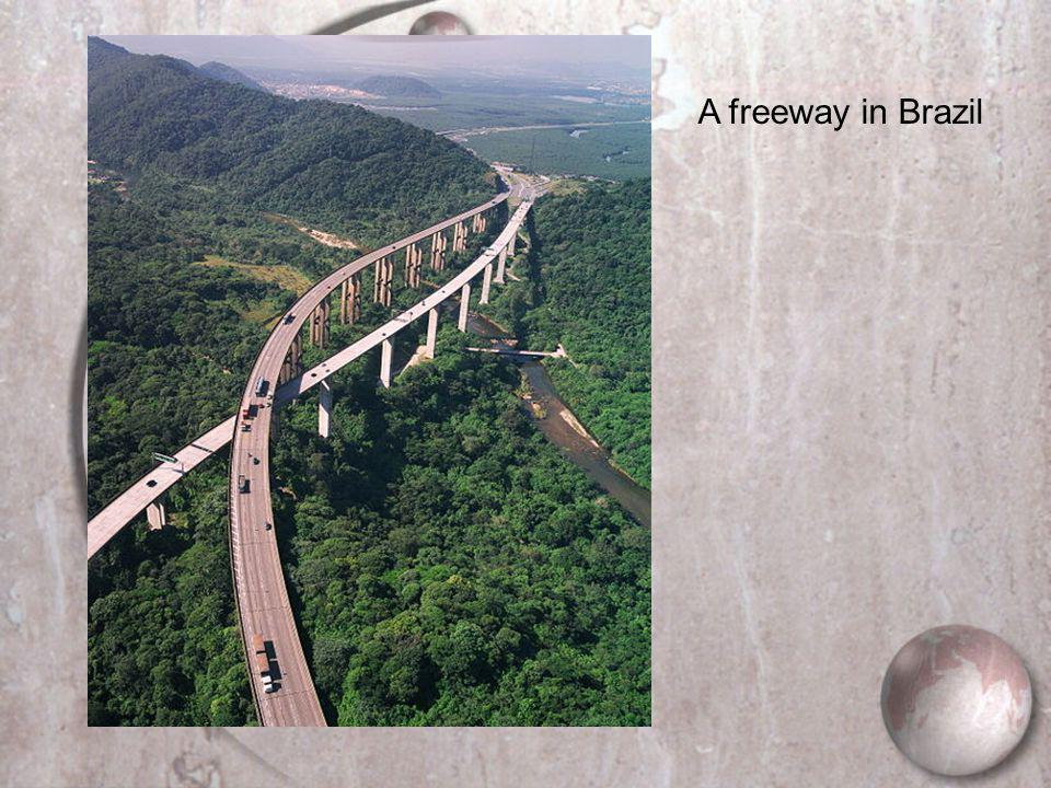 A freeway in Brazil