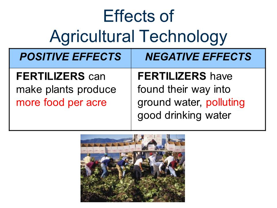 Effects of Agricultural Technology