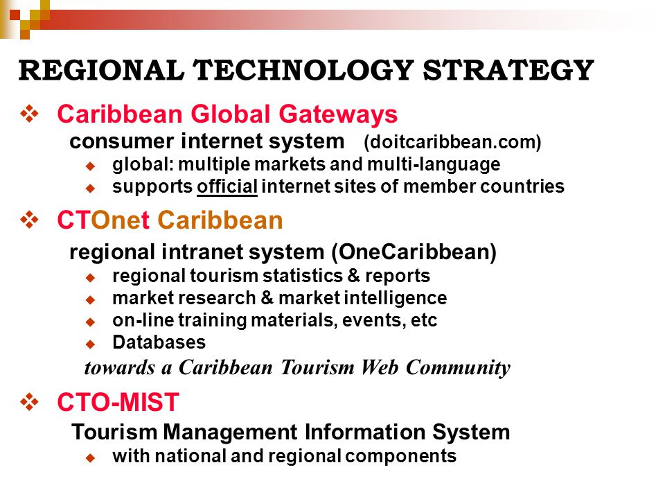 REGIONAL TECHNOLOGY STRATEGY