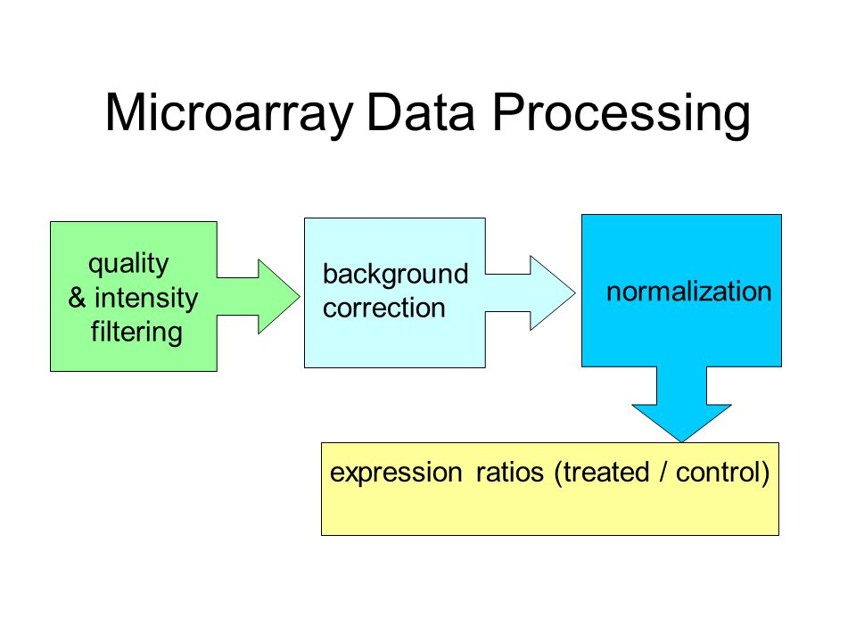 Microarray Data Processing