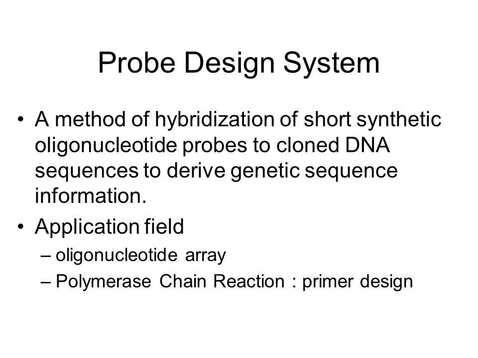 Probe Design System
