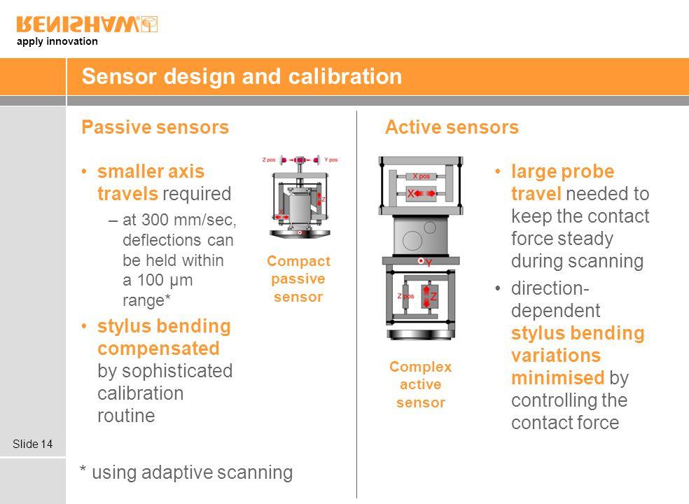 Sensor design and calibration