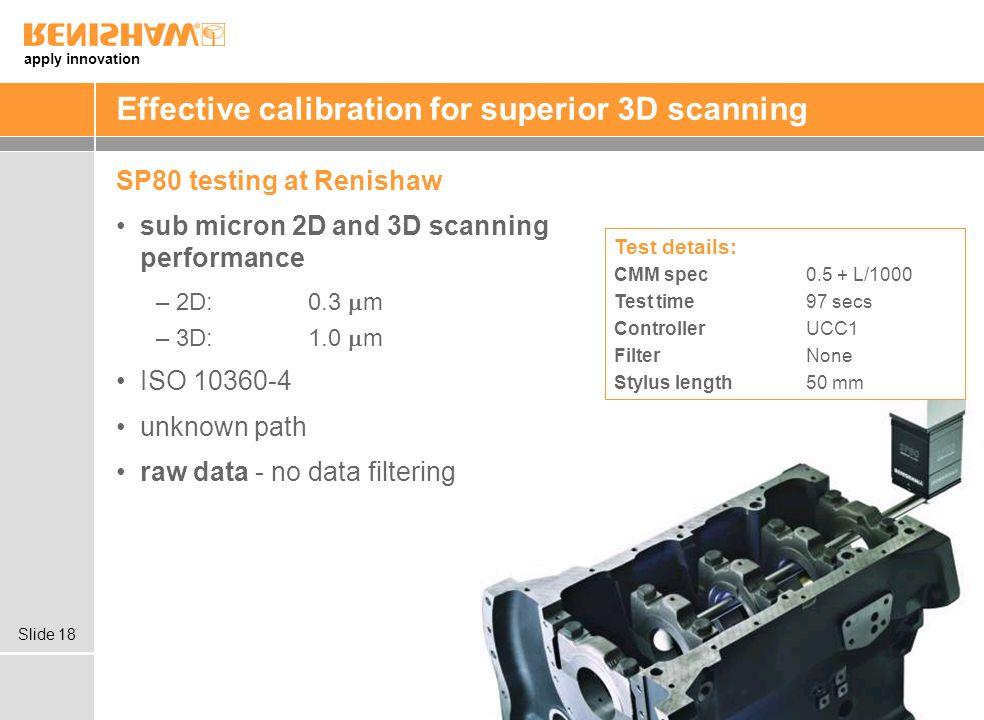 Effective calibration for superior 3D scanning