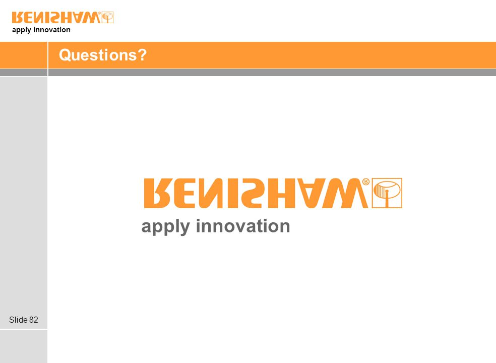 Questions apply innovation