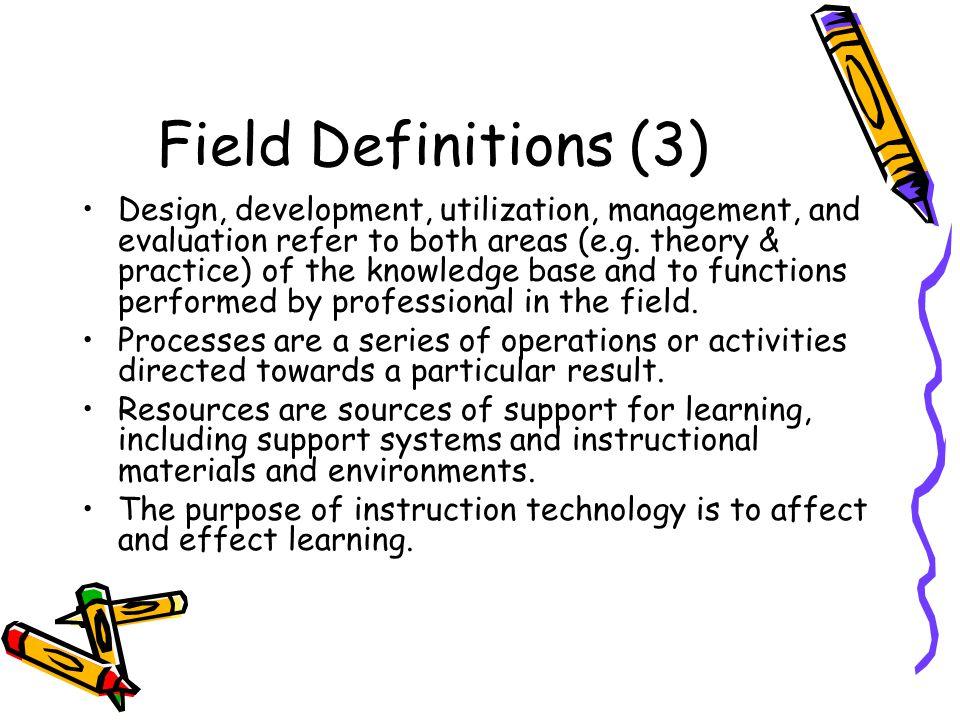 Field Definitions (3)