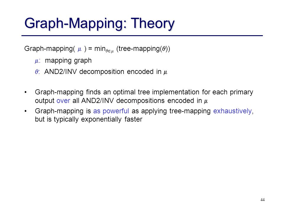 Graph-Mapping: Theory