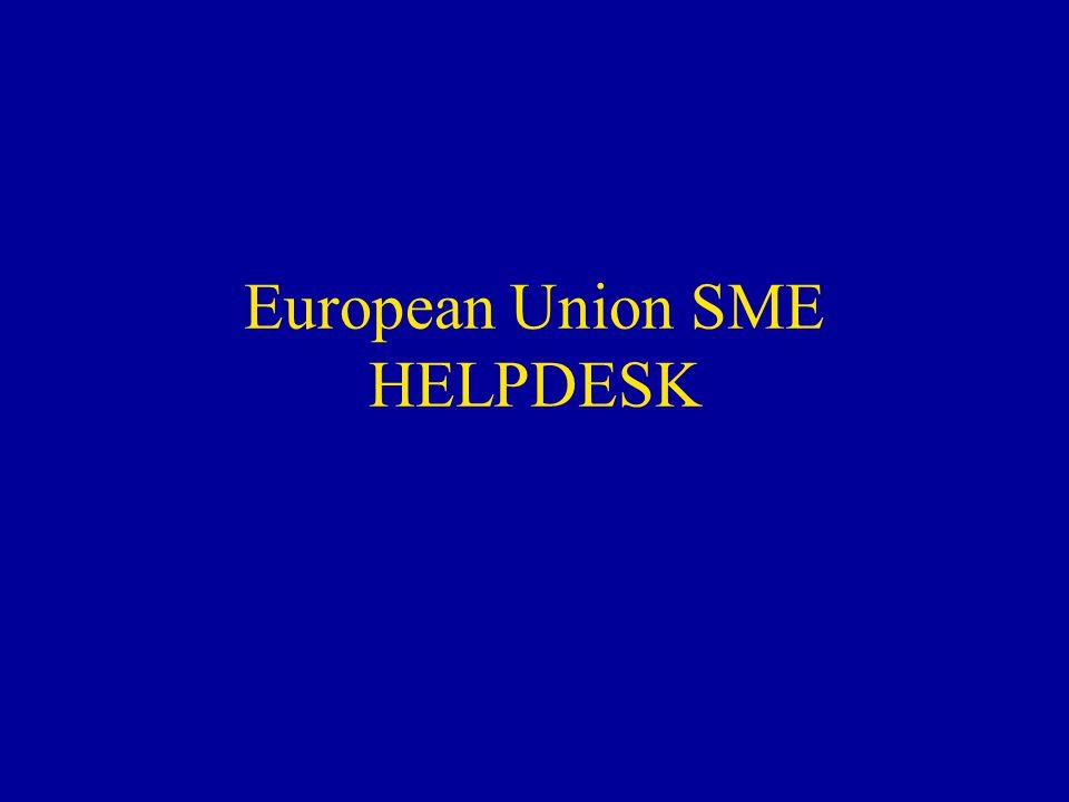 European Union SME HELPDESK