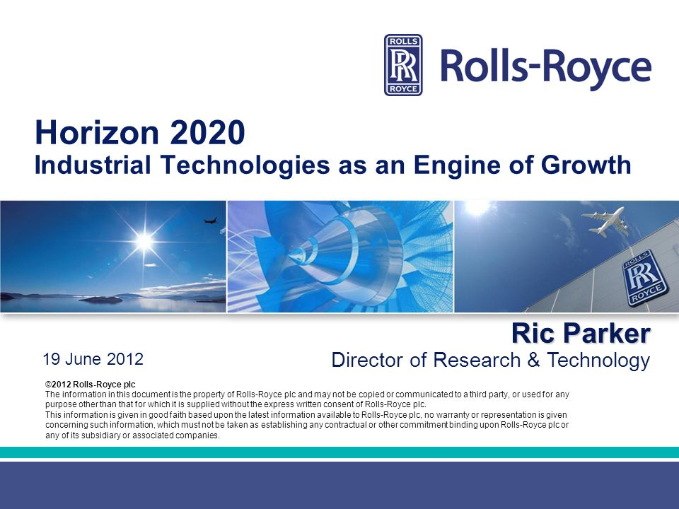 Horizon 2020 Industrial Technologies as an Engine of Growth