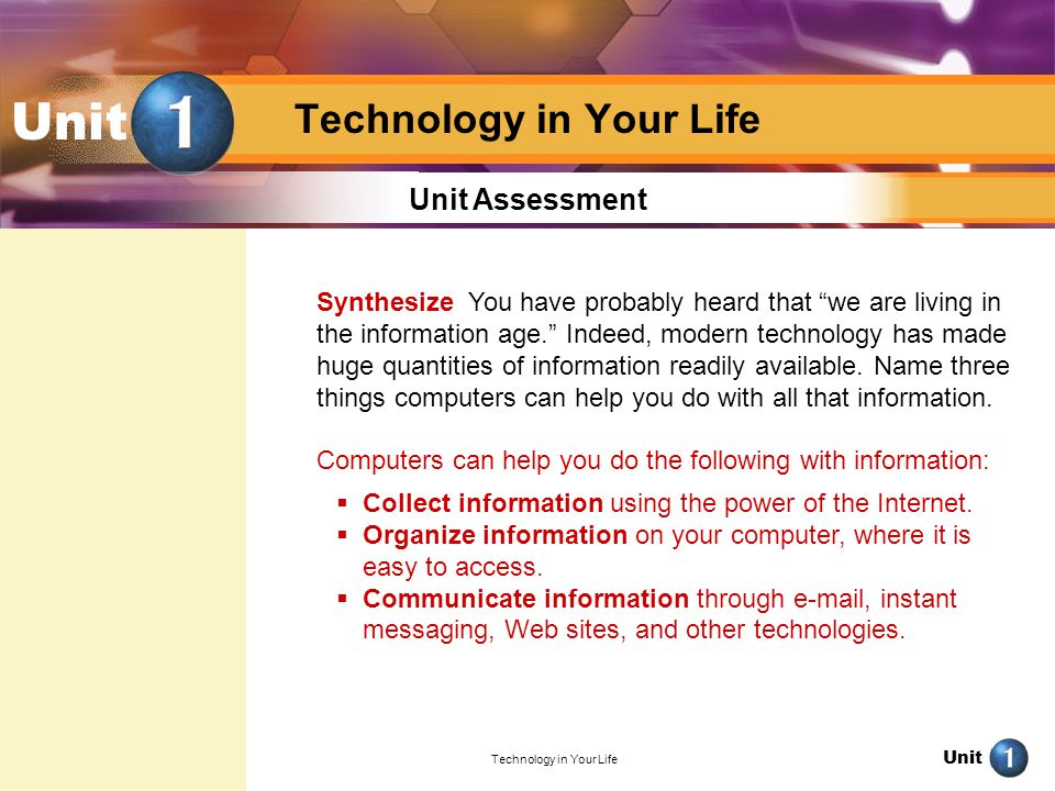 Technology in Your Life