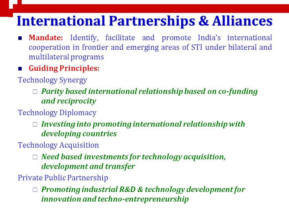 International Partnerships & Alliances