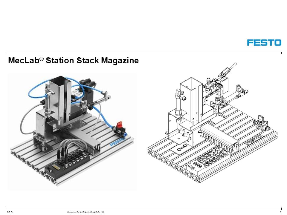 MecLab® Station Stack Magazine